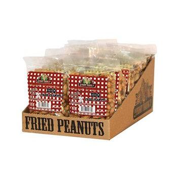 Oak Alley Farms 10252-C-FP-BQ BBQ Fried Peanuts - 12ct Counter Display