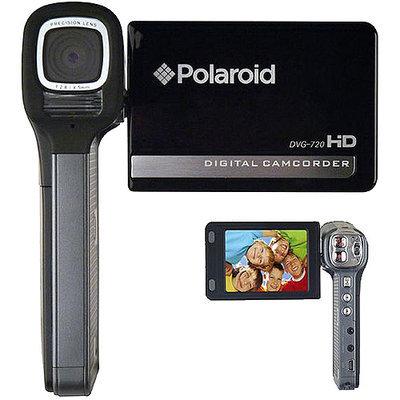 Polaroid DVG-720BC 5MP Hi-Definition Digital Camcorder w/ Easy-grip (Black)