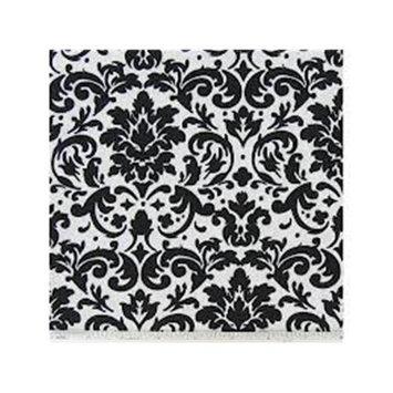 Sleepy Time 16877 Black & White Damask Infant Headrest