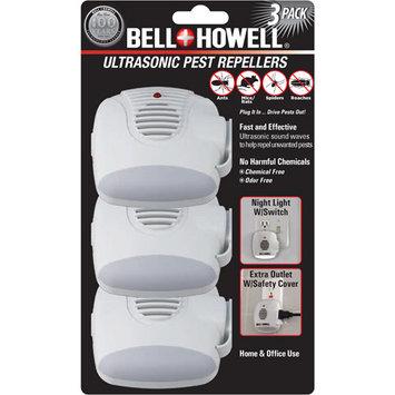 Bell & Howell BellHowell 3in1 Ultrasonic Pest RepellerSet/3