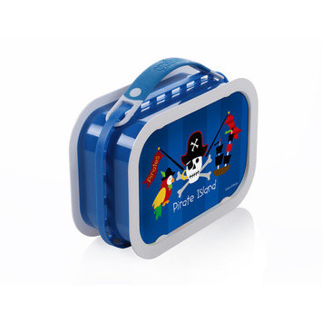 Yubo Deluxe Lunchbox with Pirates Design in Blue