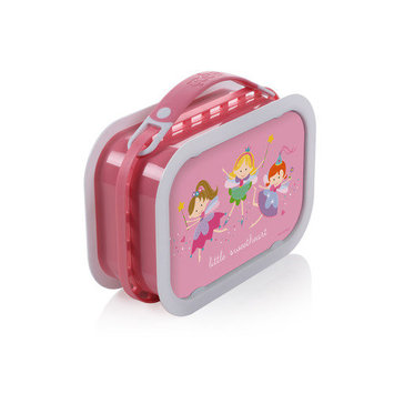 Yubo Deluxe Lunchbox with Fairy Princess Design in Pink