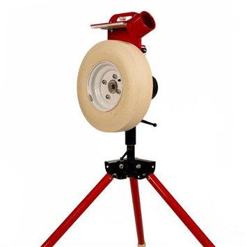 First Pitch XL Real Softball Baseball Adjustable Pitching Machine Up to 80mph