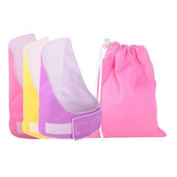 Melzy Baby BB3PNPUYL-WBPN Diaper Blowout Blocker Value Pack Girl