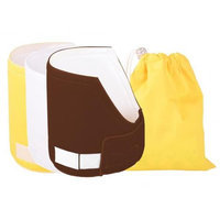 Melzy Baby SS3BRWTYL-WBYL Diaper Soaker Stopper Value Pack Neutral