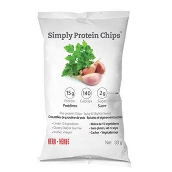 The Simply Bar - Simply Protein Chips Herb - 33 Grams