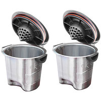 Ekobrew Stainless Steel Elite Reusable Filter, 2-Pack