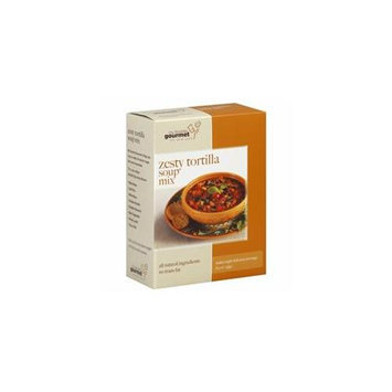 Kehe Distributors MY FAVORITE GOU 606986 MY FAVORITE GOURMET SOUP BOX TORTLA ZESTY - Pack of 6 - 9.3 OZ