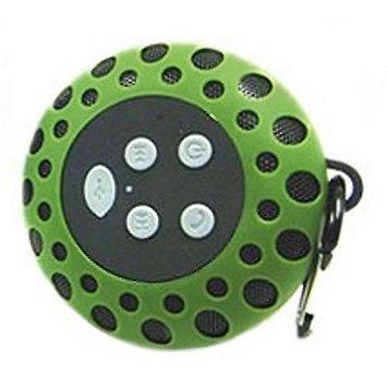 Cobra Digital CBD-BT2000GRN Bluetooth Speaker With Clip Green