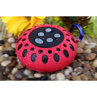Cobra BT2000RED Bt Portable Speaker With Clip Red