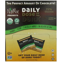 Nibmor Daily Dose Of 72% Dark Chocolate 0.35 Ounce -Pack of 60