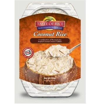 Taste Of Rice BPC1025274 Taste Of Rice Coconut Rice - 6x8.8 OZ