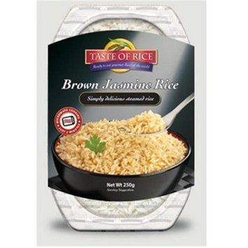 Taste Of Rice BPC1025273 Taste Of Rice Brown Jasmine Rice - 6x8.8 OZ