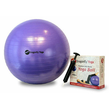 Dragonfly Yoga 55-Centimeter Fitness Ball & Pump