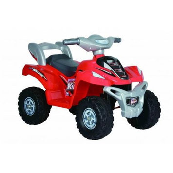 Joy Riders GT5010R Motorized 4-Wheel Quad Runner Ride-On Vehicle - Red