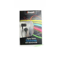 iBoost EPM1218BK Earphone With Built-In Microphone Black