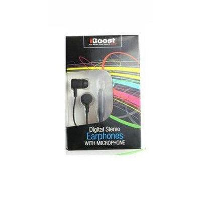 iBoost EPM1218BK Earphone With Built-In Microphone Black