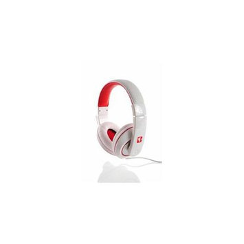 iBoost HP2006WH Stereo Headphones With Deep Heavy Bass White