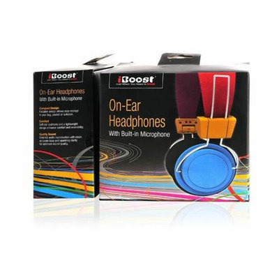 iBoost HP7000BL Multi Colored Headphones