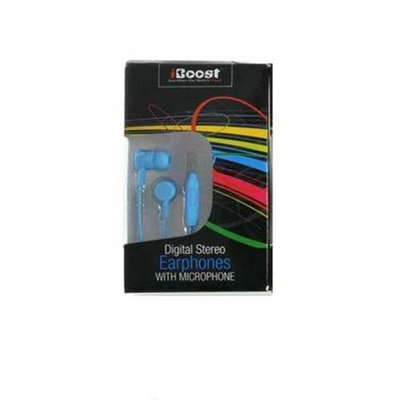iBoost EPM1218BL Earphone With Built-In Microphone Blue