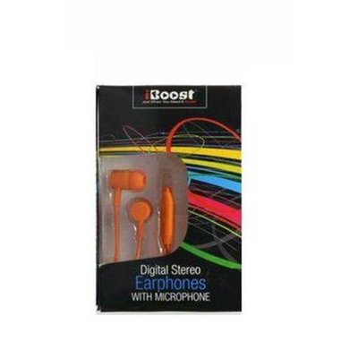 iBoost EPM1218OR Earphone With Built-In Microphone Orange