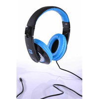 iBoost HP2006BL Stereo Headphones With Deep Heavy Bass Blue