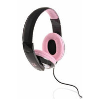 iBoost HP2006PK Stereo Headphones With Deep Heavy Bass Pink