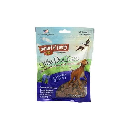 Tural Animal Nutrition Smart N Tasty Little Ducky Dog Treat Blueberry
