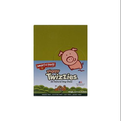 Smart N' Tasty Smart n Tasty Piggy Twizzies Natural Dog Chew