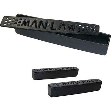 Parasia International Man Law Black Cast Iron Humidifiers, Set of 2