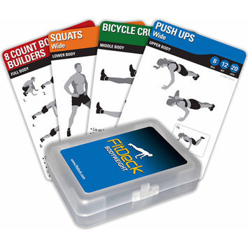 Fitdeck Inc FitDeck Exercise Playing Card- Bodywgt (EA)