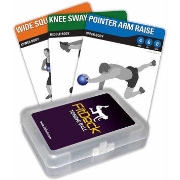Fitdeck Inc FitDeck Exercise Cards - Toning Ball (EA)