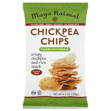 Maya Kaimal Chickpea Chips Seeded Multigrain 4.5 oz - Vegan