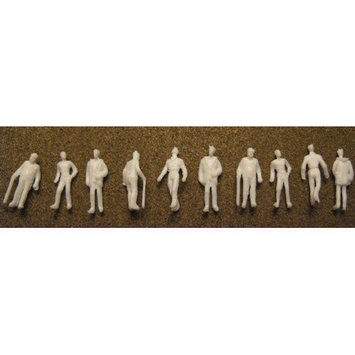 SCP White Male Figures (Pack of 10)