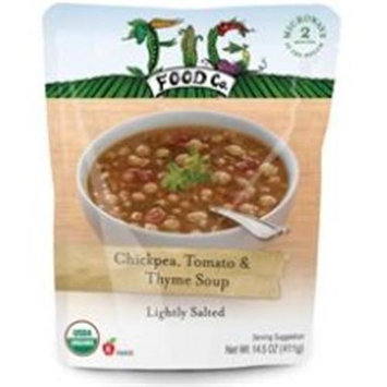 Fig Food Company Organic Chickpea, Tomato & Thyme Soup - 14.5 oz