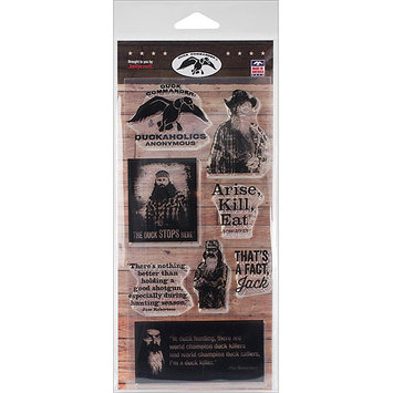 Kellycraft Duck Commander Clear Stamps 4