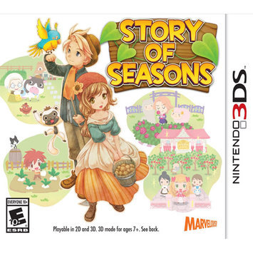 Marvelous Usa, Inc. Nintendo 3DS - Story of Seasons
