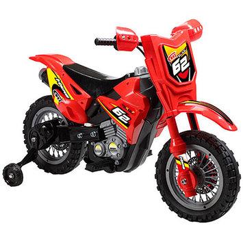 Big Toys USA MM-3999B-Red Dirt Bike 6v Red