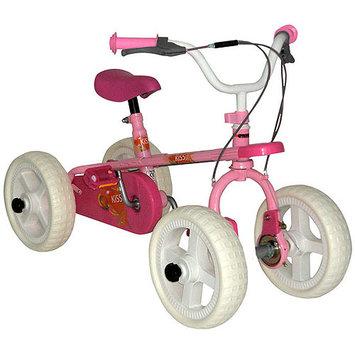 Big Toys USA QB-91052-Pink Quadra Byke Pink