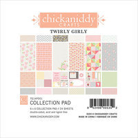 Chickaniddy Crafts Twirly Girl Paper Pad 6
