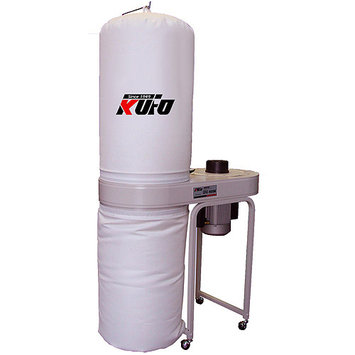 Airfoxx Kufo Seco 2 HP 220V Vertical Bag Dust Collector