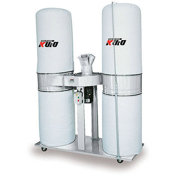 AirFoxx UFO-103T Kufo Seco 5 HP 3,900 CFM 3 phase 220V / 440V Dust Collector