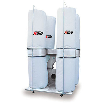 AirFoxx UFO-105D Kufo Seco 7 1/2 HP 5,260 CFM 3 phase 220V / 440V Dust Collector