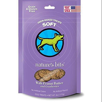 Nature's Bits Soft Oven-Baked Peanut Butter and Cranberries Dog Treats