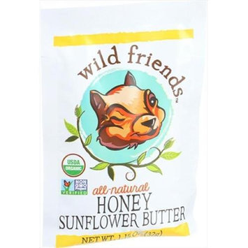 Wild Friends Organic Sunflower Butter Honey 1.15 oz