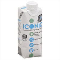 Iconic - Healthy Lifestyle Beverage Protein Drink Pure Vanilla Bean - 11 oz.