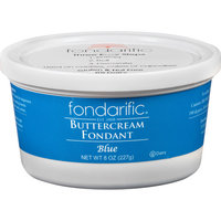 Fondarific Blue Buttercream Fondant, 8 oz