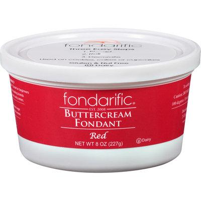 Fondarific Red Buttercream Fondant, 8 oz