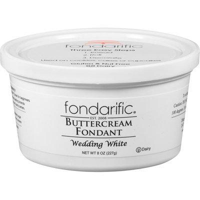 Fondarific Wedding White Buttercream Fondant, 8 oz