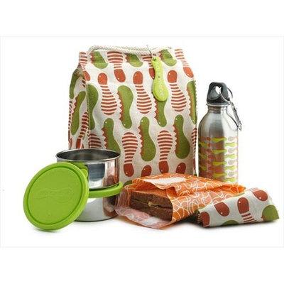 Kids Konserve KITC Waste-Free Lunch Kit - Caterpillar
